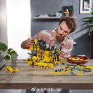 lego technic 42131 cat d11t bulldozer 8