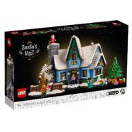 10293 lego winter village santa visit box front