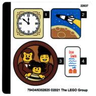10293 lego winter village santa visit sticker sheet 2
