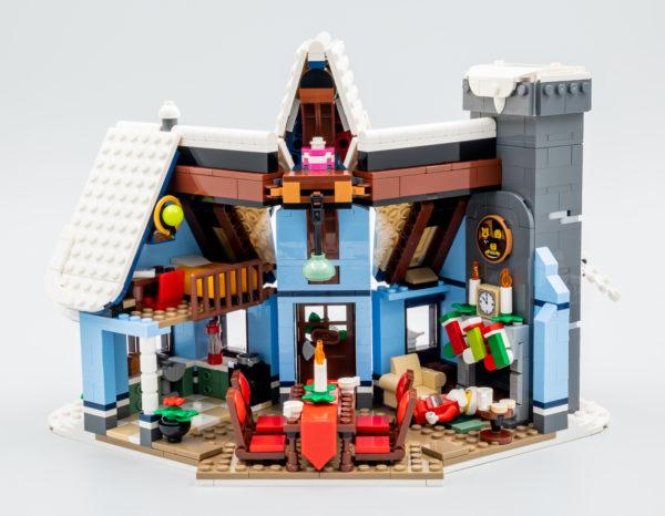 10293 lego winter village santa visit 41