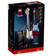 21329 lego ideas fender stratocaster box back