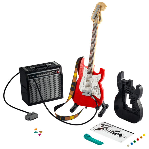 21329 lego ideas fender stratocaster 1