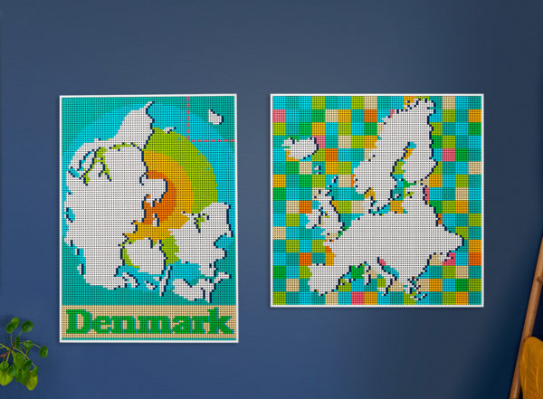 31203 lego art world map alternative models instructions