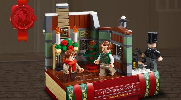 Sur le Shop LEGO : Le set 40410 Charles Dickens Tribute est offert dès 150 € d'achat