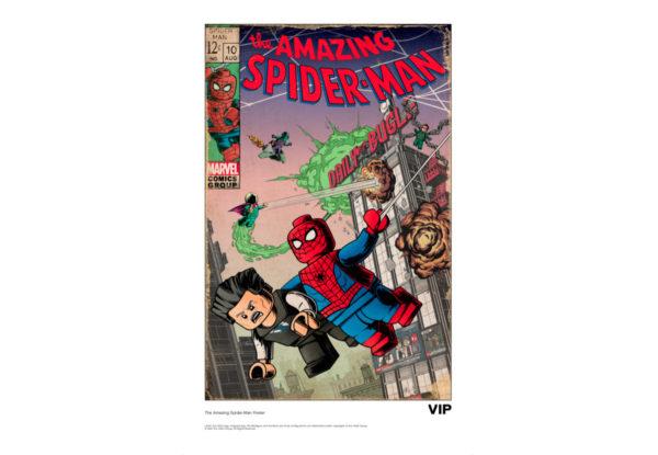 5007043 lego marvel vip spider man poster