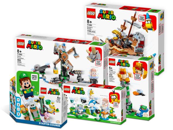Sur le Shop LEGO : des bundles de sets LEGO Super Mario mais au même prix qu'au détail...