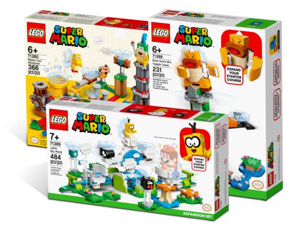 5007061 lego super mario creative bundle