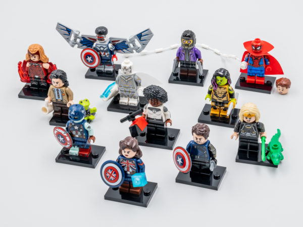 Vite testé : LEGO Marvel Studios 71031 Collectible Minifigure Series
