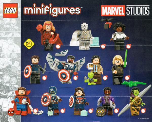 71031 lego marvel studios collectible minifigures series