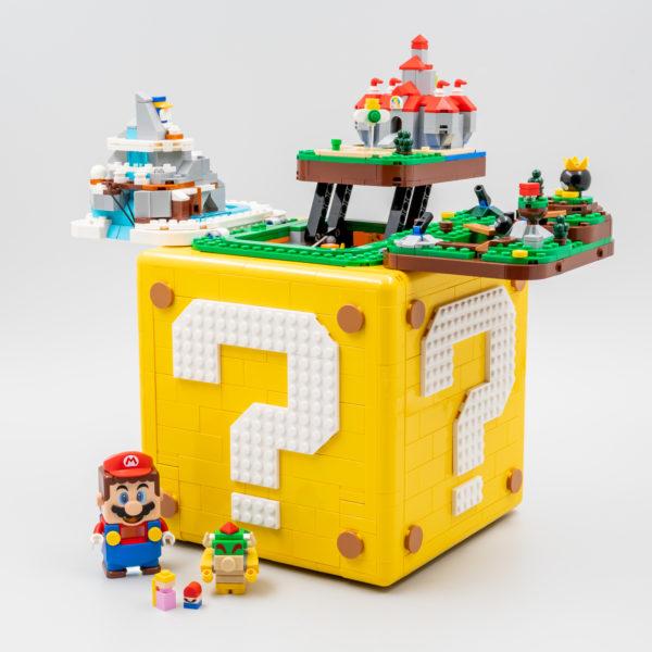 Vite testé : LEGO 71395 Super Mario 64 ? Block