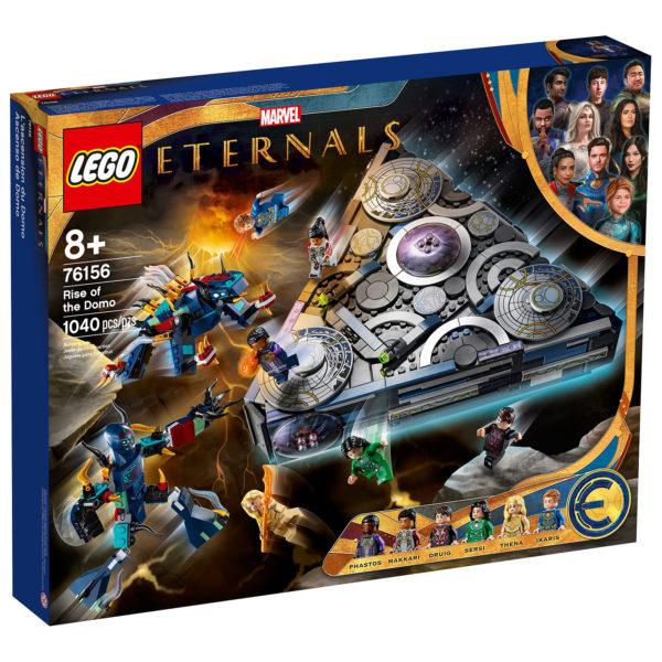 76156 lego marvel eternals rise domo box front