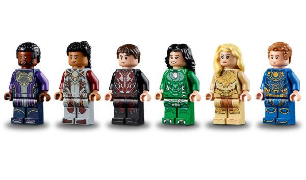 76156 lego marvel eternals rise domo minifigures