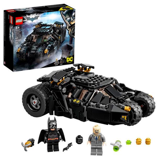 76239 lego batmobile tumbler scarecrow showdown full set