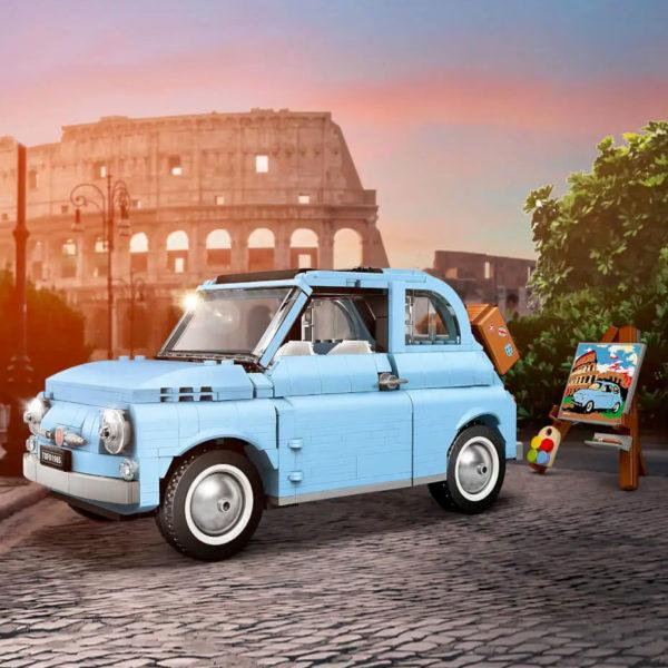 LEGO 77942 Fiat 500 Baby Blue Exclusive Limited Edition : toujours disponible chez ZAVVI