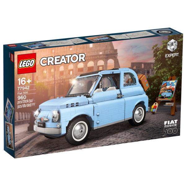 77942 lego fiat 500 box