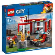 77943 lego city fire station starter set box