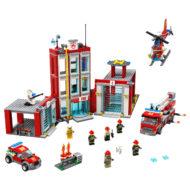 77944 lego city fire station headquarters