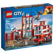 77944 lego city fire station headquarters box