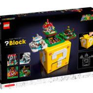 LEGO 71395 Super Mario 64 block box back