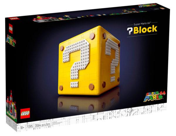LEGO 71395 Super Mario 64 block box front
