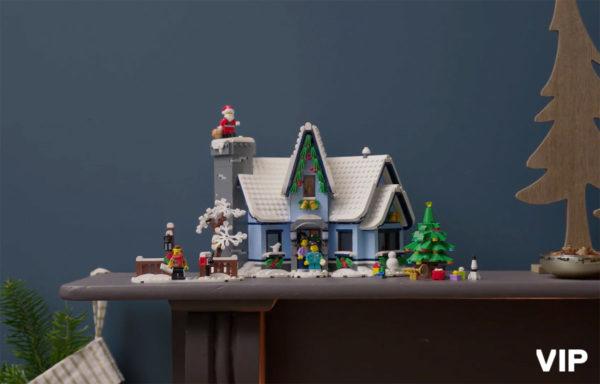 LEGO Winter Village 10293 Santa's Visit : disponible en avant-première VIP sur le Shop