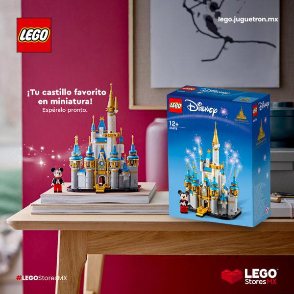 lego 40478 mini disney castle 2021
