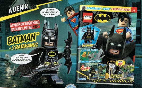 lego batman magazine decembre 2021 batman minifigure