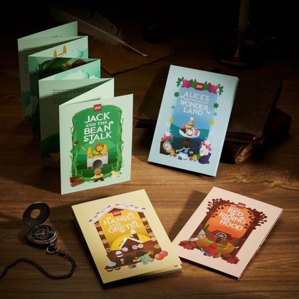 lego bricktober fairy tale collection 2021