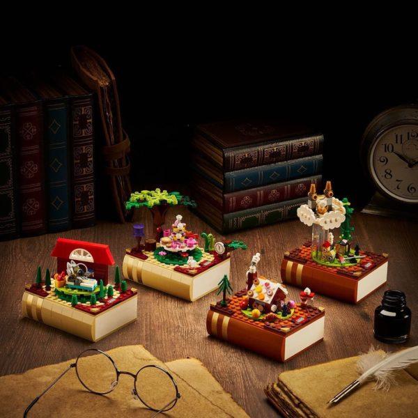 LEGO Bricktober Fairy Tale Collection : c'est joli mais ce n'est pas pour nous