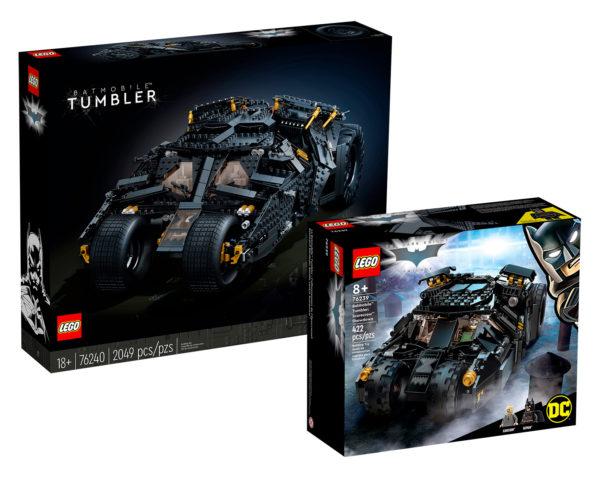 lego dc comics 76239 76240 tumbler shop