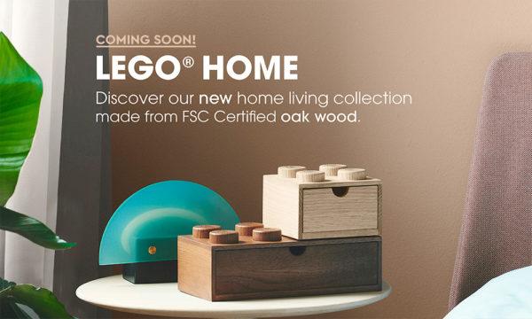 LEGO Home Wooden Collection : Le bois, c'est plus cher que le plastique