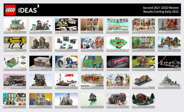 lego ideas second 2021 review phase 1