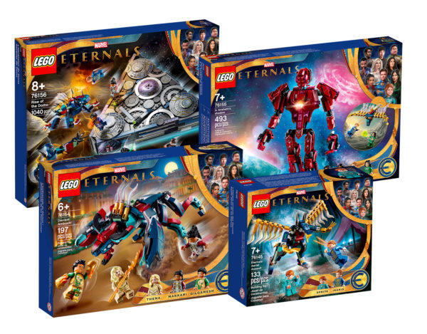 lego marvel eternals 76145 76154 76155 76156