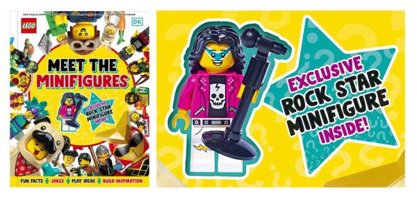 lego meet the minifigures dk book 2022