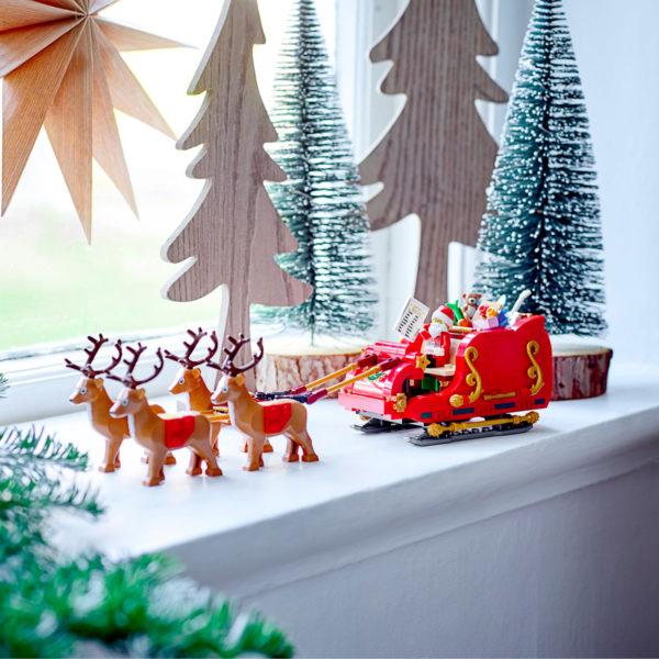 lego seasonal 40499 santa sleigh 5