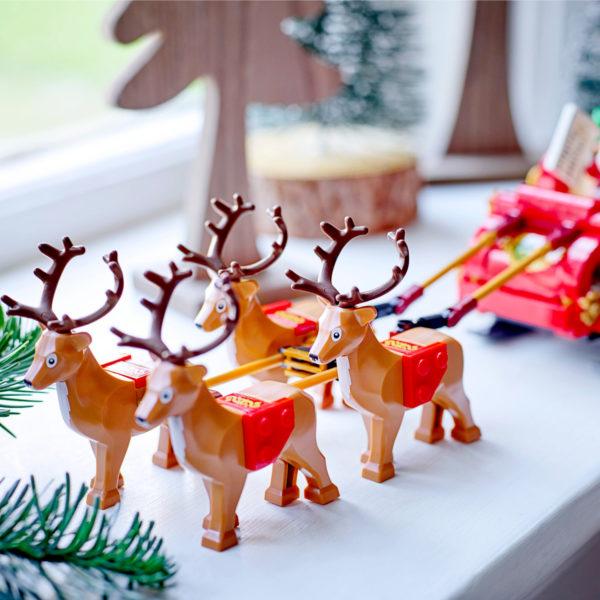 lego seasonal 40499 santa sleigh 6