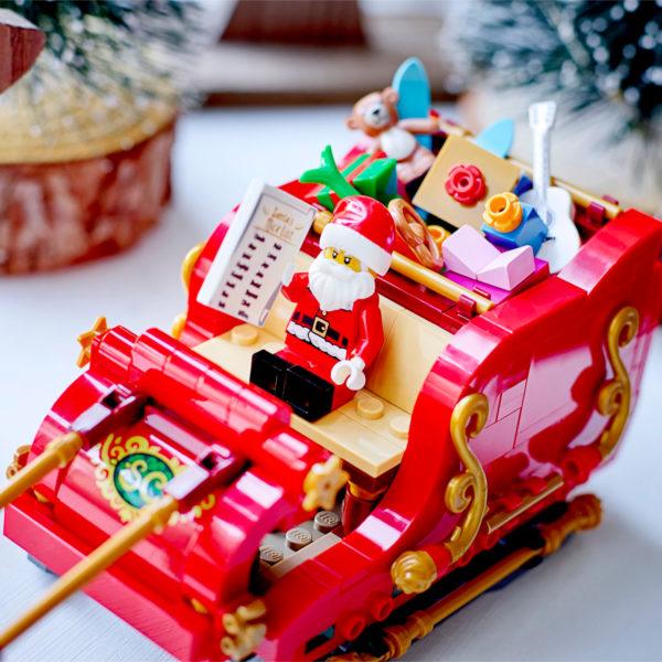 lego seasonal 40499 santa sleigh 7
