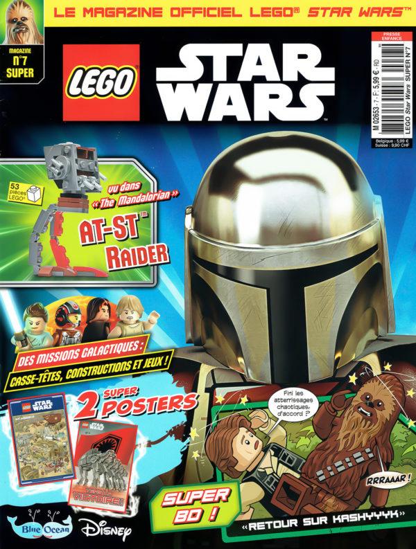 En kiosque : le numéro de septembre 2021 du magazine officiel LEGO Star Wars