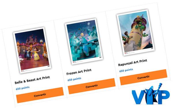 lego vip disney posters rewards 2021