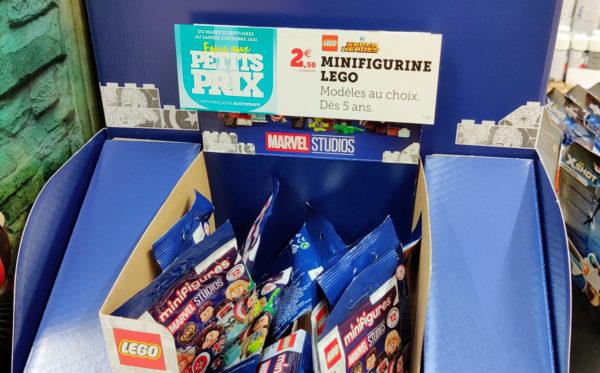 super u promo lego marvel minifigures 71031