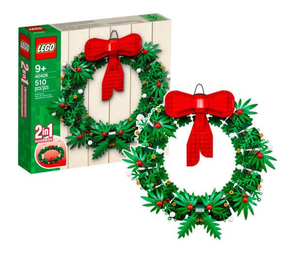 LEGO 40426 Christmas Wreath 2-in-1 : de retour sur le Shop