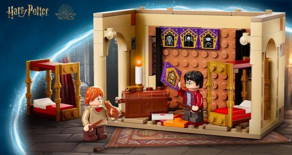 Sur le Shop LEGO : le set LEGO Harry Potter 40452 Hogwarts Gryffindor Dorms offert dès 100 € d'achat