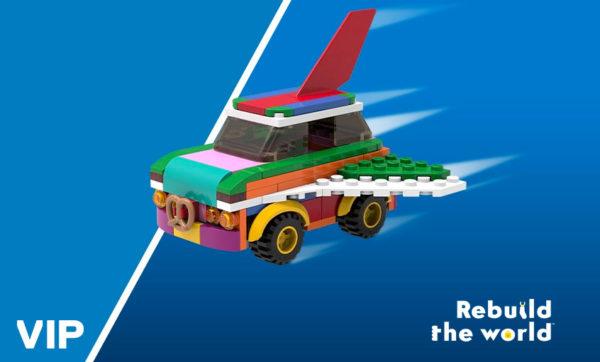 Sur le Shop LEGO : le set 5006890 Rebuildable Flying Car offert dès 120 € d'achat