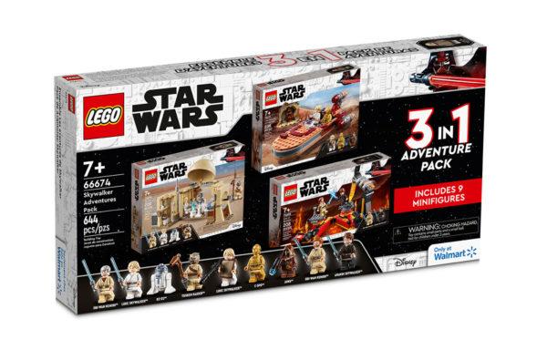 66674 lego starwars skywalker adventure pack 1