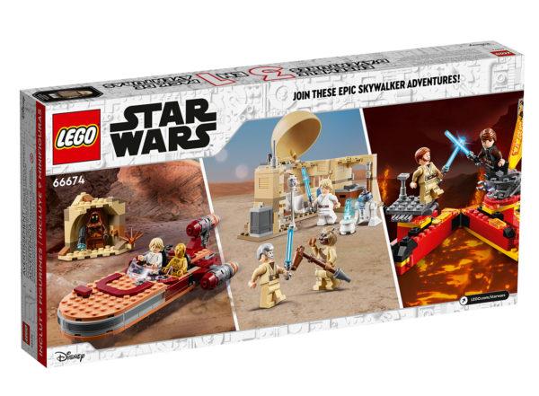 Nouveauté LEGO Star Wars 2021 : 66674 3in1 Skywalker Adventures Pack