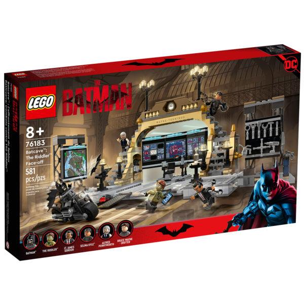 76183 lego batman dc comics batcave riddler face off 1