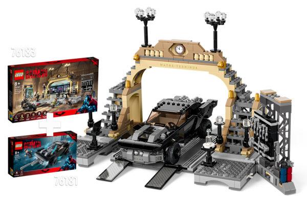 Nouveautés LEGO The Batman 2022 : trois sets basés sur le film