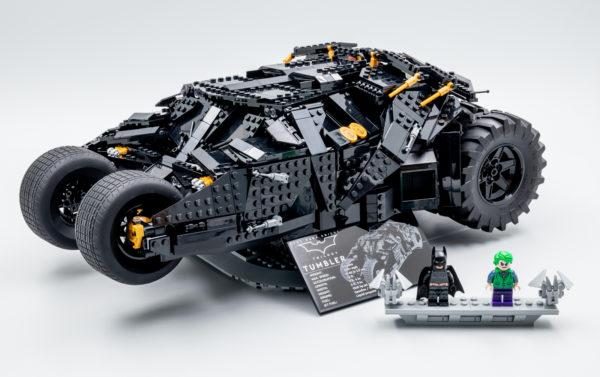 Vite testé : LEGO DC 76240 Batman Batmobile Tumbler