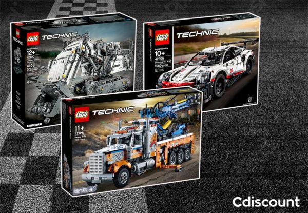 Chez Cdiscount : 50% de réduction sur le 2ème produit LEGO