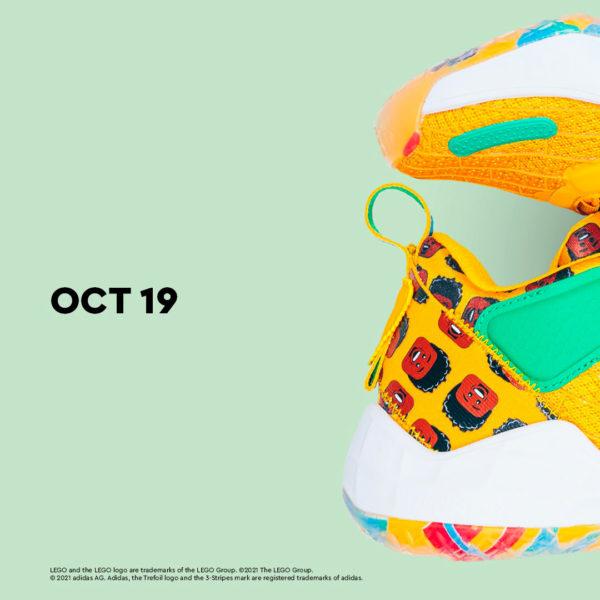 adidas X LEGO : collaboration sur le thème de la NBA en vue